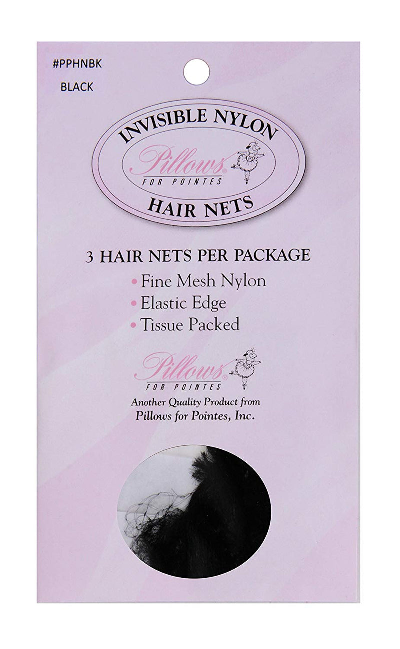 Finest Quality Invisible Nylon Hair Nets