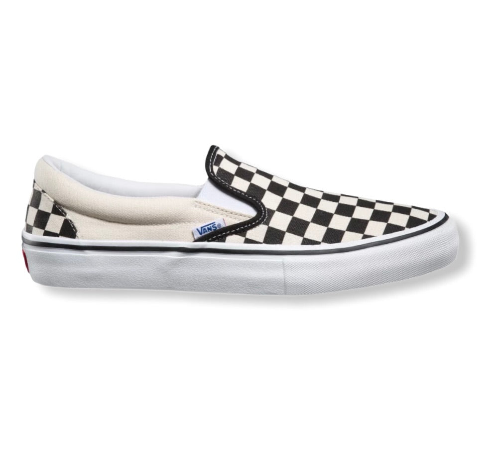 Vans Skate Slip On Checkerboard Black White