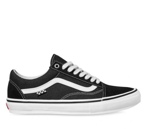 VANS SKATE OLD SKOOL BLACK WHITE