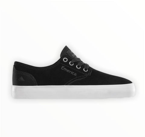 The Romero Laced YOUTH Black/White/Gum