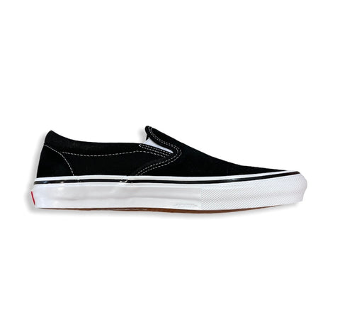 VANS SLIP- ON PRO BLACK WHITE (NEW)