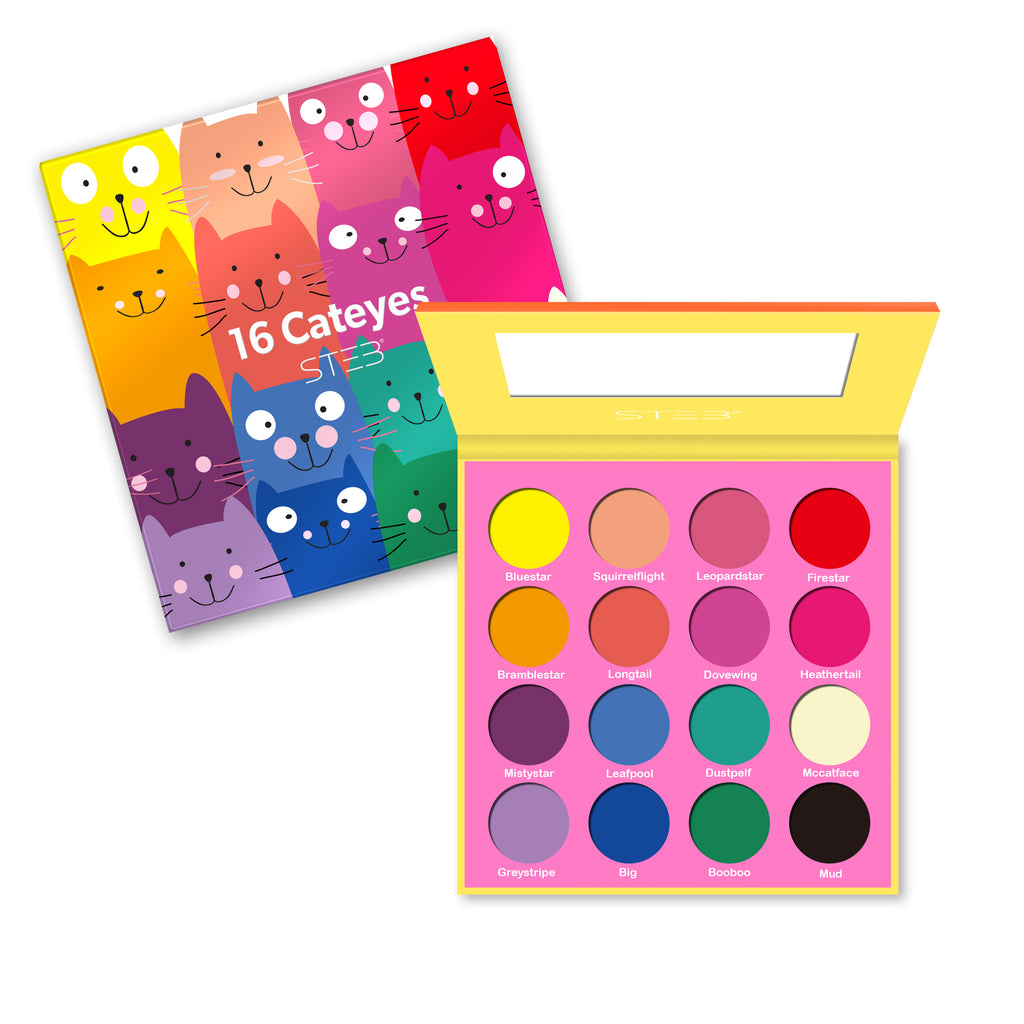 Cateyes 16 Color Matte Eyeshadow Palette
