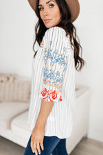 Exquisite Embroidery Blouse