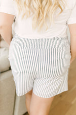 Pinstripe Perfection Shorts