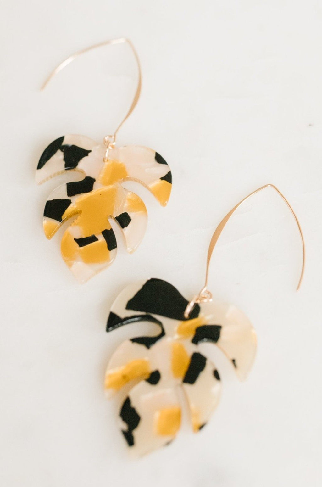 Zia Leaf Earrings