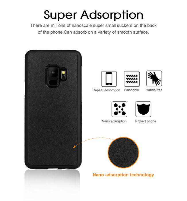 Anti Gravity Phone Cover For Samsung S10 S9 S8 Plus S7 Edge Note 10 9 8 For iPhone XR 11 Pro XS Max 8 7 6S Plus For Huawei Case
