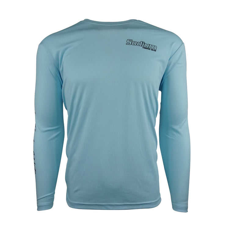 Sodium Blue Larko Snook Long Sleeve