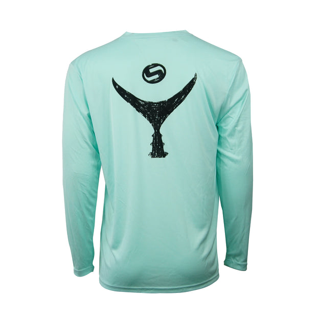 Men's Seafoam Tuna Tail Long Sleeve
