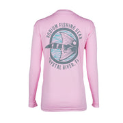 Light Pink Seafoam Red Tail Long Sleeve