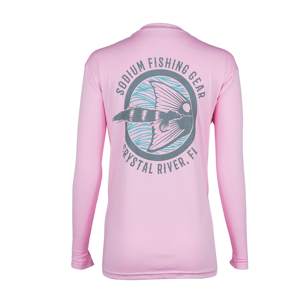 Sodium Light Pink Seafoam Red Tail Long Sleeve