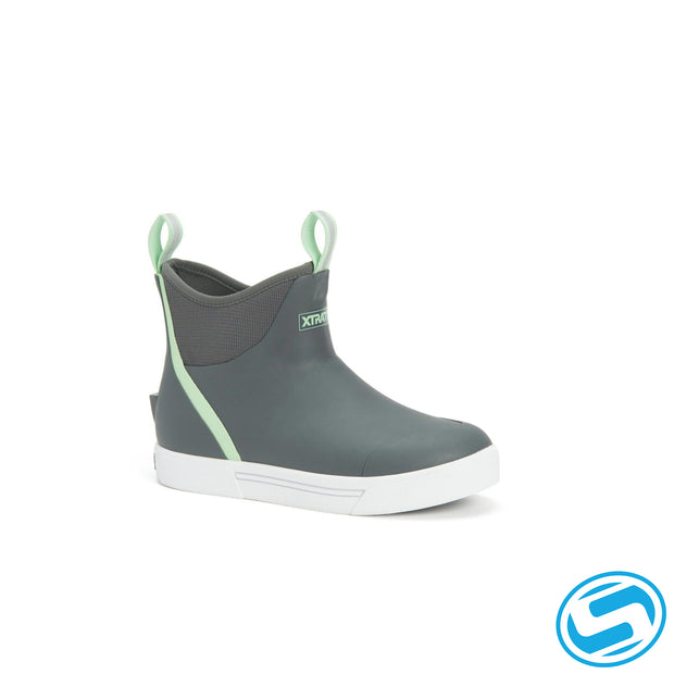 "Xtra Tuf Women's Wheelhouse Ankle Boot ""Gray"""