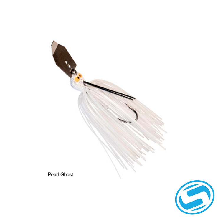 Zman 1/2oz CrosseyeZ Chatterbait (Pearl Ghost)