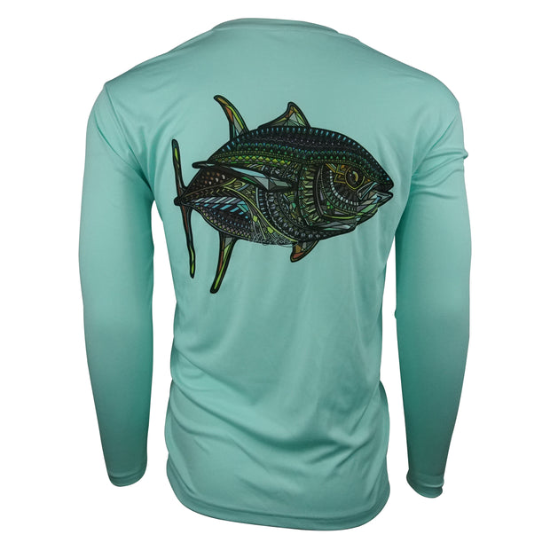 Sodium Seafoam Larko Tuna Long Sleeve