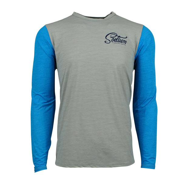 Blue/Grey Sodium Fly Long Sleeve