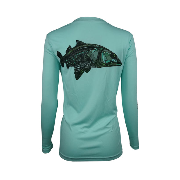 Sodium Women's Seafoam Larko Snook Long Sleeve