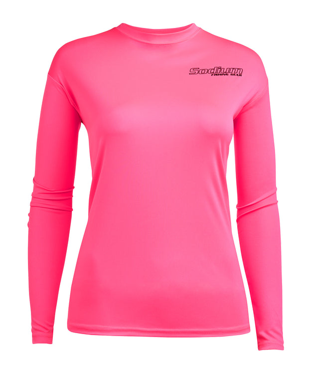 Pink Mahi Mahi Long Sleeve