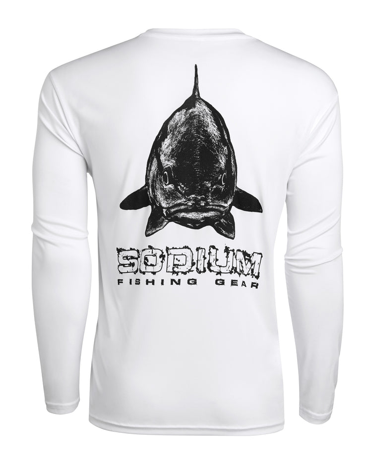 White Redfish Face Long Sleeve