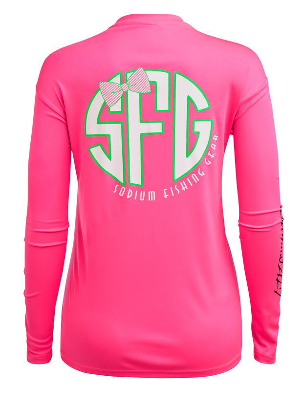 Pink Sodium Mono Long Sleeve