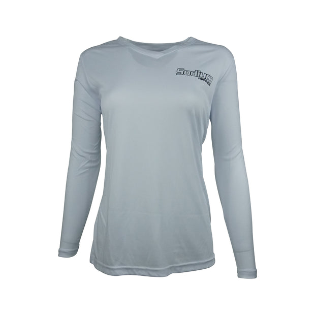 Sodium Women's Grey Larko Snook Long Sleeve