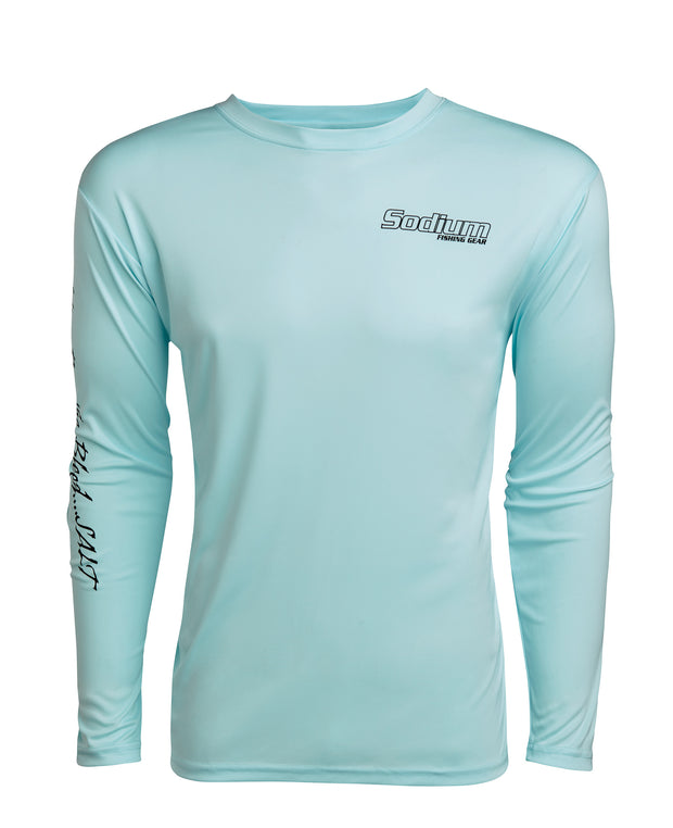 Ice Blue Sodium Marlin Long Sleeve