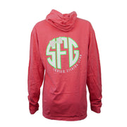 Sodium Women's Pink Sodium Hooded Tee