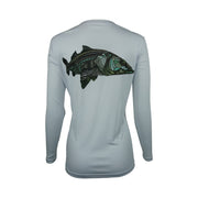 Women's Grey Larko Snook Long Sleeve