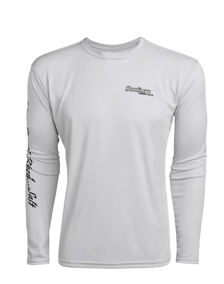 Pearl Grey Skiff Marsh Long Sleeve