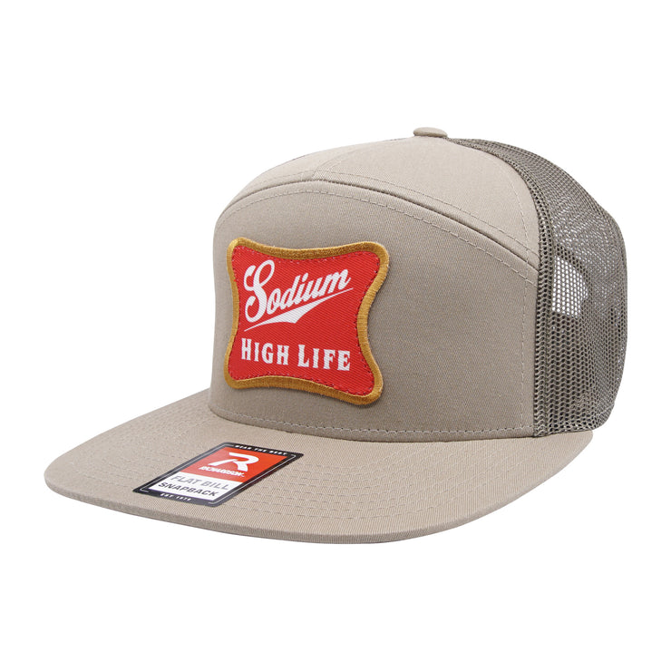 Loden Sodium High Life Patch Flat Bill Hat