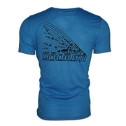 Blue Tool Tail Redfish Short Sleeve