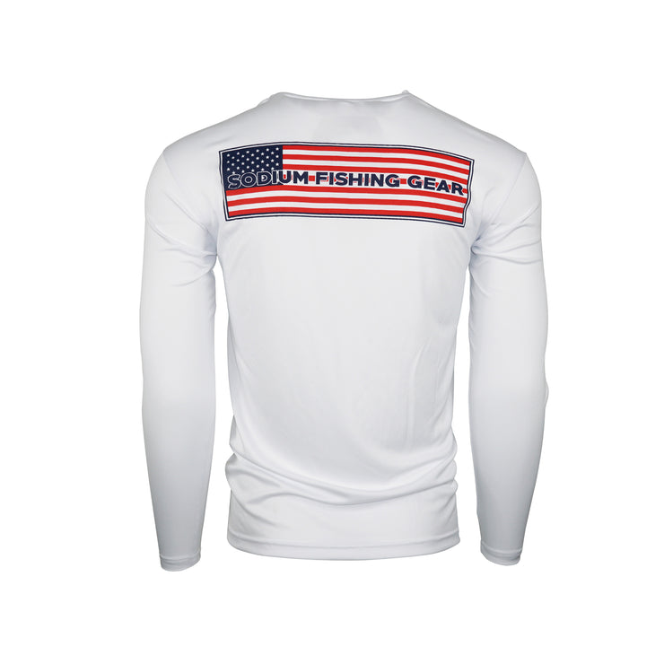 Youth Sodium American Flag Long Sleeve