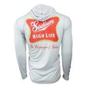 Sodium Grey/Red Sodium High Life Hoodie