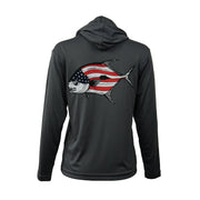 Sodium Youth American Flag Permit Hoodie