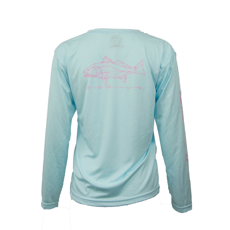 Youth Artic Blue/Pink Constellation Long Sleeve