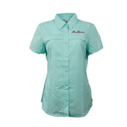 Sodium Women's Seafoam Collar SFG Short Sleeve