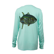 Sodium Women's Seafoam Larko Tuna Long Sleeve