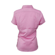 Sodium Women's Pink/Black Collar SFG Short Sleeve
