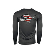 Youth Sodium American Flag Permit Long Sleeve