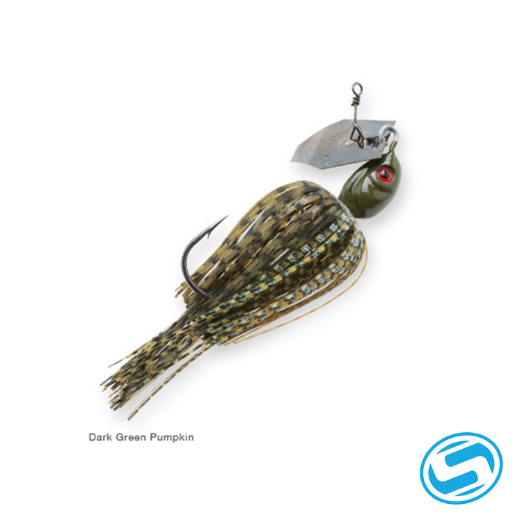 Zman Dark green Pumpkin Chatterbait Project Z