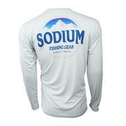 Men's Grey/Blue Mountain Sodium Long Sleeve