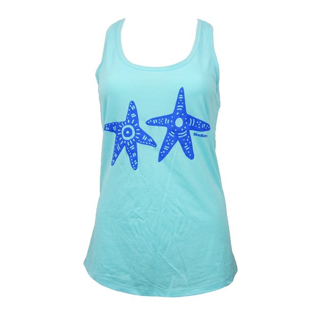 Sodium Women's Ice Blue SFG Tank Top