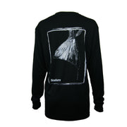 Men's Black/White Fish Tail Long Sleeve