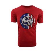 Sodium Red Sodium USA Short Sleeve