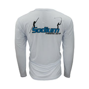 White Sodium Fishing Gear Long Sleeve