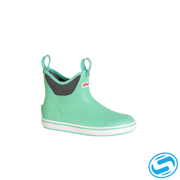 "Xtra Tuf Women's 6 In Ankle Deck Boot ""Seafoam"""