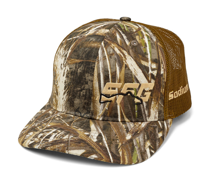 Realtree Max 5 Brown Tan SFG Adj Hat