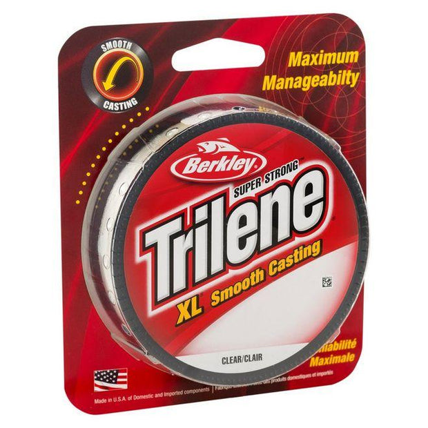 Berkley Trilene Monofilament (Fluorescent Clear/Blue)