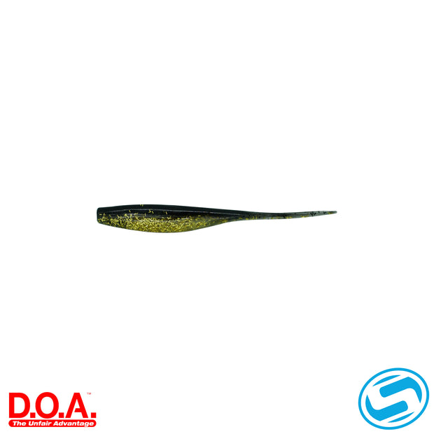 "D.O.A. 5.5"" Gold Rush Jerk Bait"