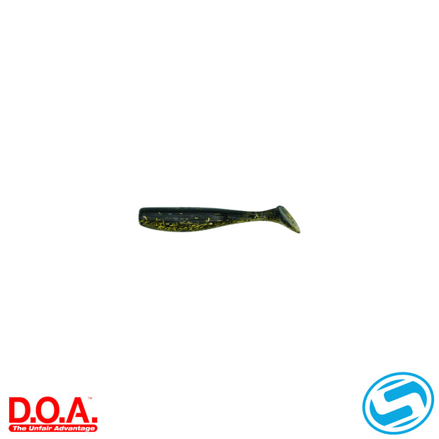 "D.O.A. 3"" Gold Rush Paddle Tail"