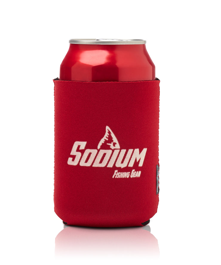 Can Coozie Magnet Red