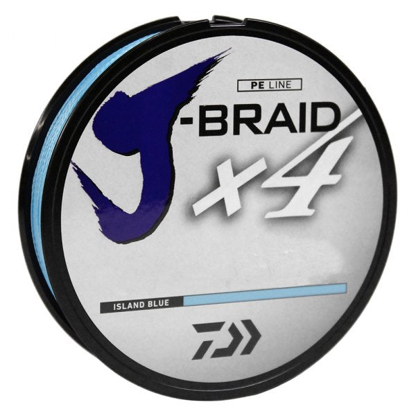 Daiwa J-Braid X4 (150 Yard - Island Blue)